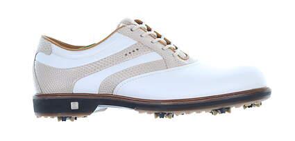 New Womens Golf Shoe Ecco New Classic 38 (7-7.5) White/Limestone MSRP $190