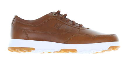 New Mens Golf Shoe Footjoy Golf Casual Medium 10.5 Taupe Smooth MSRP $162