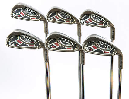 Ping G15 Iron Set 4-9 Iron Ping AWT Steel Stiff Right Handed Black Dot 38 in