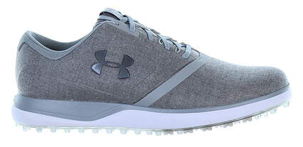 New Mens Golf Shoe Under Armour UA Performance SL Hybrid 2 9.5 Gray MSRP $150