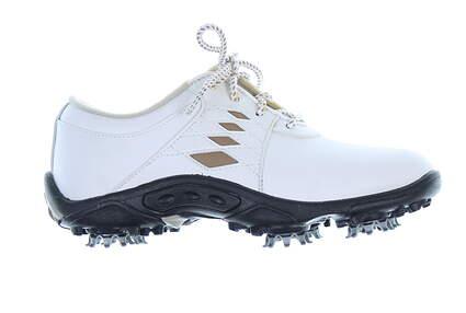 New Junior Golf Shoe Footjoy Jr Model Medium 3 White MSRP $65