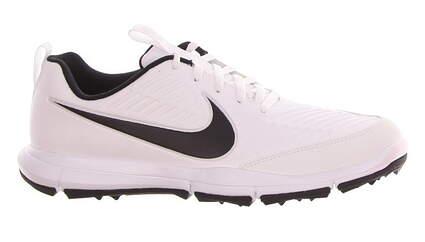New Mens Golf Shoe Nike Explorer 2 8 White/Black MSRP $75