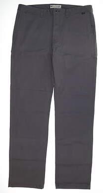 New Mens Travis Mathew Livingston Pants Size 36 Castlerock MSRP $110 1MJ077