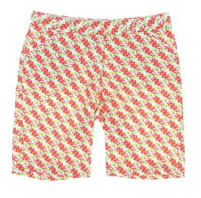 New Womens Peter Millar Printed Wallflower Shorts Size 6 Multi MSRP $100