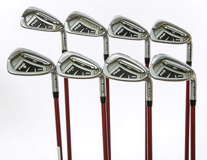 Ping I20 Iron Set 4-GW Ping TFC 149I Graphite Ladies Right Handed Black Dot 37.5 in
