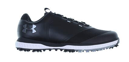 New Mens Golf Shoe Under Armour UA Fade RST 10 Black MSRP $120