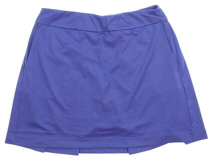 New Womens EP Pro Pull-On Golf Skort W/ Back Pleat Size Large L Sail Blue MSRP $90 NS1000