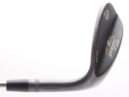 Titleist Vokey SM5 Raw Black Wedge Lob LW 60* 8 Deg Bounce M Grind Titleist SM5 BV Steel Wedge Flex Right Handed 36 in