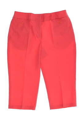 New Womens Sport Haley Golf Capris Size 6 Pink MSRP $75 WB123219