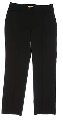 New Womens Sport Haley Golf Pants Size 12 Black MSRP $80