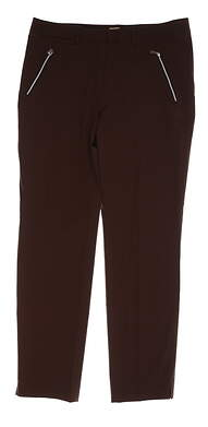 New Womens Sport Haley Golf Pants Size 12 Brown MSRP $90 WC224315