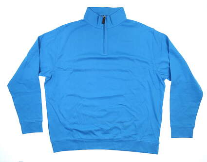 New Mens G-Mac McPearl 1/4 Zip Pullover XX-Large XXL Teal Blue MSRP $80