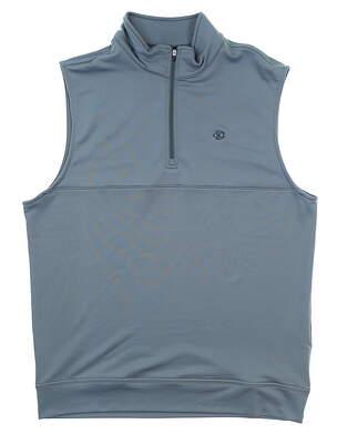 New W/ Logo Mens Dunning Thermal Vest Medium M Gray MSRP $79