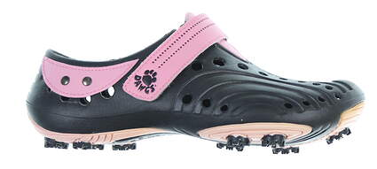 New Womens Shoe Dawgs Golf Spirit Size 6 Black/ Pink MSRP $50
