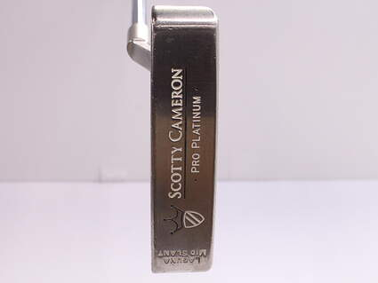 Titleist Scotty Cameron Pro Platinum Laguna Mid Slant Putter Stock Steel Shaft Steel Right Handed 34 in