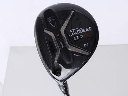 Titleist 917 F2 Fairway Wood 3 Wood 3W 15* Diamana M+ 60 Limited Edition Graphite Regular Left Handed 43 in