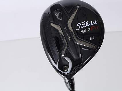 Titleist 917 F2 Fairway Wood 5 Wood 5W 18* Diamana S+ 70 Limited Edition Graphite Regular Left Handed 42 in
