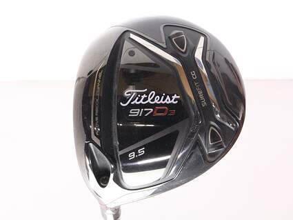 Titleist 917 D3 Driver 9.5* Diamana S+ 60 Limited Edition Graphite Stiff Left Handed 45 in