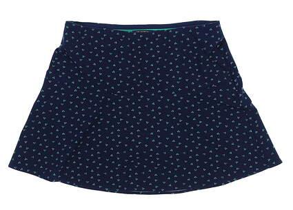 New Womens Ralph Lauren Print Stretch Skort Size X-Small XS Monterey Deco MSRP $145