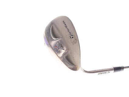 TaylorMade Rac Chrome Wedge Sand SW 12 Deg Bounce Stock Steel Shaft Steel Wedge Flex Right Handed 35.5 in