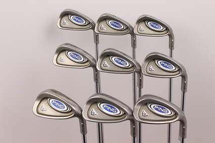Ping i5 Iron Set 3-PW SW Ping AWT Steel Stiff Right Handed White Dot 38 in