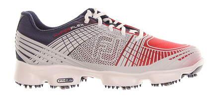 New Mens Golf Shoe Footjoy Hyperflex II Medium 8 Blue/ Red MSRP $160