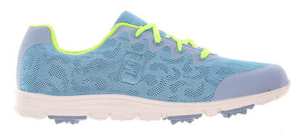 New Womens Golf Shoe Footjoy enJoy Medium 9.5 Blue MSRP $80