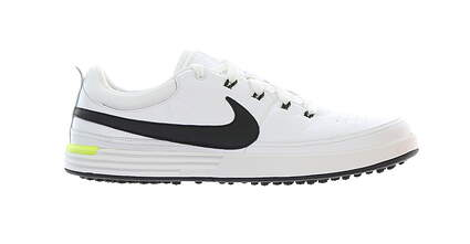 New Mens Golf Shoe Nike Lunarwaverly 12 White/Black MSRP $160
