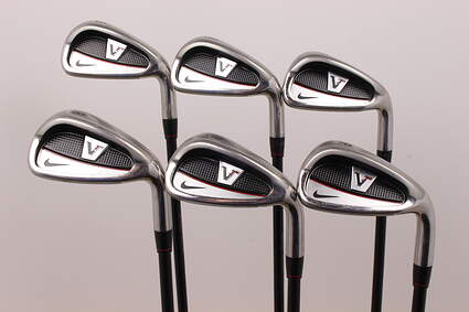 Nike Victory Red Cavity Back Iron Set 5-PW Stock Graphite Shaft Graphite Ladies Right Handed 37 in