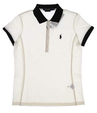 New Womens Ralph Lauren Classic Golf Polo Small S Pure White MSRP $90 281590898001