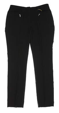 New Womens Sport Haley Ankle Pants Size 8 Black MSRP $99