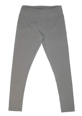 New Womens Puma Knit Golf Tight Size Medium M Quarry MSRP $50 571414 02