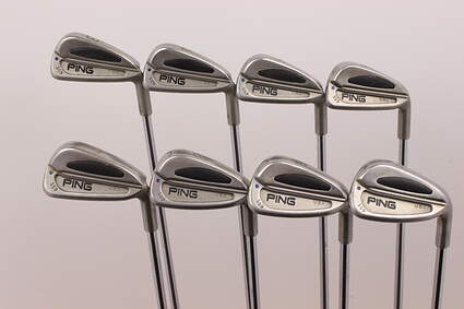Ping S59 Iron Set 3-PW Ping Z-Z65 with Cushin Insert Steel Stiff Right Handed Blue Dot 38 in
