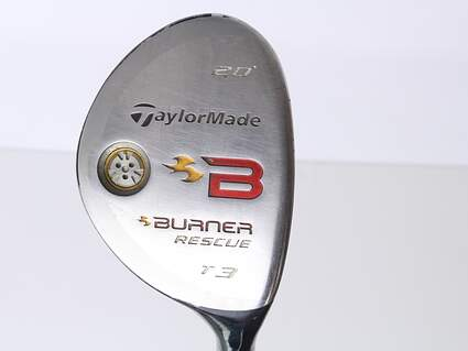 TaylorMade 2008 Burner Rescue Tour Launch Hybrid 3 Hybrid 20* TM Reax 85 TP Steel Stiff Right Handed 40 in
