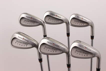 TaylorMade Supersteel Iron Set 5-PW TM S-90 Steel Stiff Right Handed 39.75 in