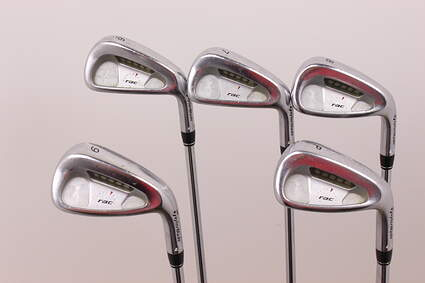 TaylorMade Rac LT Iron Set 6-PW Rifle 6.0 Steel Stiff Right Handed 37.5 in
