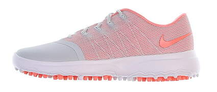 New Womens Golf Shoe Nike Lunar Empress 2 7 Pure Platinum/Lt Atomic Pink MSRP $125