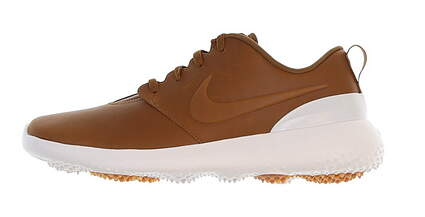 New Mens Golf Shoe Nike Roshe G Premium 10 Ale Brown/White MSRP $120