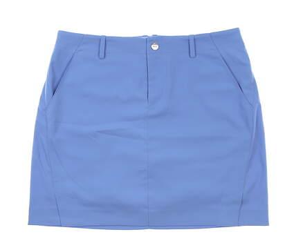New Womens Ralph Lauren Polo Golf Skort Size 12 Blue MSRP $157