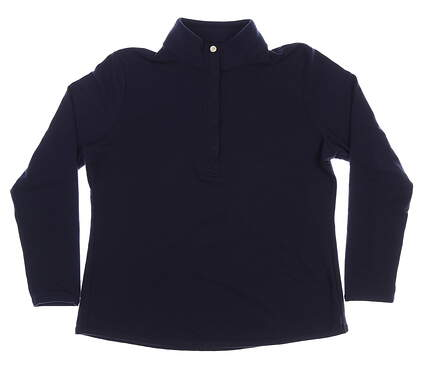 New Womens Fairway & Greene Kate Old School Sweatshirt X-Large XL Navy Blue MSRP $116