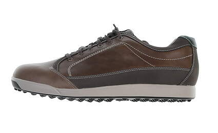 New Mens Golf Shoe Footjoy Contour Casual Wide 10.5 Brown MSRP $140