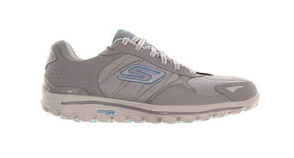 New Womens Golf Shoe Skechers GOwalk 2 Lynx 10 Gray/Blue MSRP $100