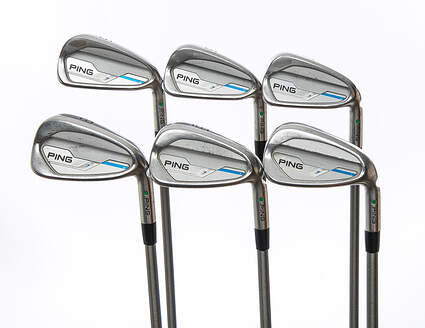 Ping 2015 i Iron Set 5-PW Graphite X-Stiff Right Handed Green Dot 38.0in