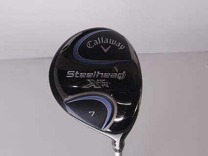 Mint Callaway Steelhead XR Fairway Wood 7 Wood 7W 21* Mitsubishi Tensei CK 45 Blue Graphite Ladies Right Handed 40.75 in