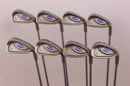 Ping i5 Iron Set 3-PW True Temper Dynamic Gold Steel Regular Right Handed Black Dot 38 in