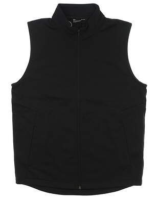 New Mens Under Armour Storm ColdGear Golf Vest Large L Black MSRP $84