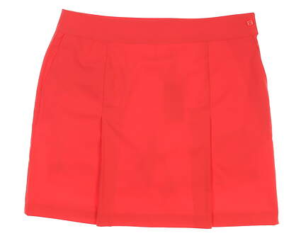 New Womens EP NY Tech Pleat Skort Size 8 Bay Coral MSRP $85 1110NAA
