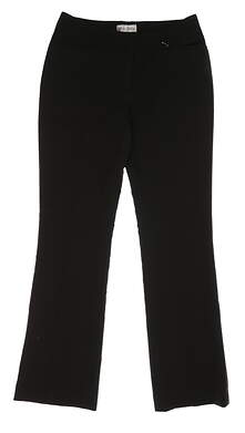 New Womens Sport Haley Performance Pants Size 4 Black MSRP $75