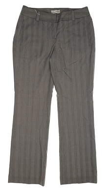 New Womens Sport Haley Plaid Pants Size 10 Multi MSRP $100