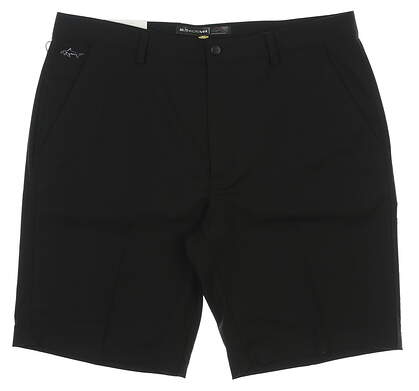 New Mens Greg Norman ML75 MicroLUX Golf Shorts Size 36 Black MSRP $59 G7S6H900